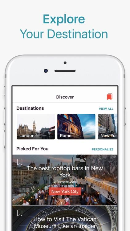 CityMaps2Go Pro Trip Planner screenshot-0