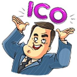 Mr. Trader CoinMoji Sticker
