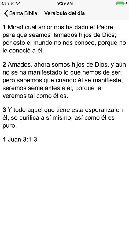 Santa Biblia Reina screenshot-4