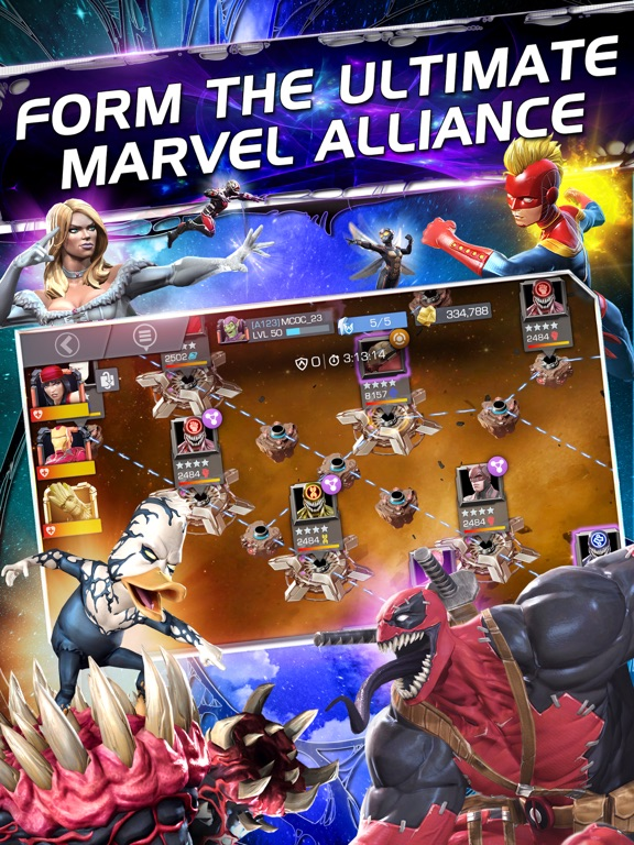 MARVEL Contest of Champions iPad