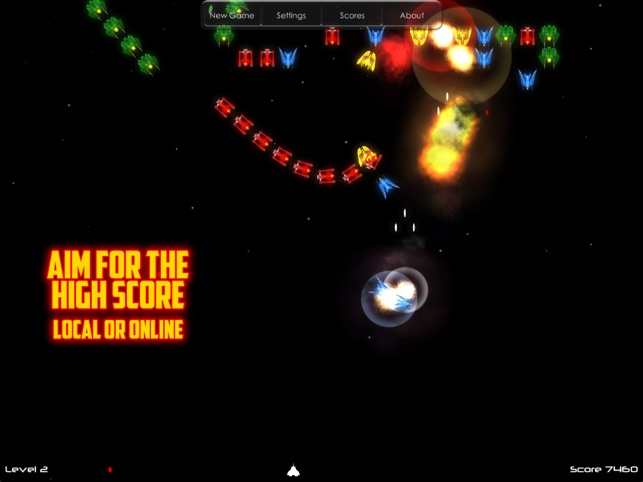 Blast HD, game for IOS