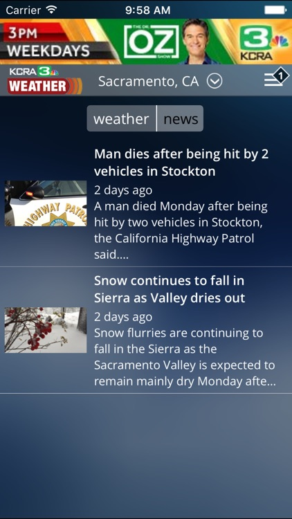 KCRA Weather screenshot-4