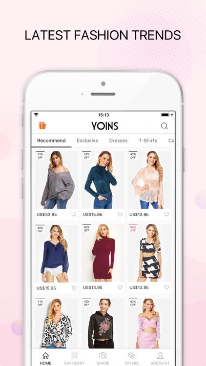 Yoins - Fashion Clothing screenshot-4