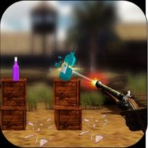 Sniper Gun Bottle Shooting 3D