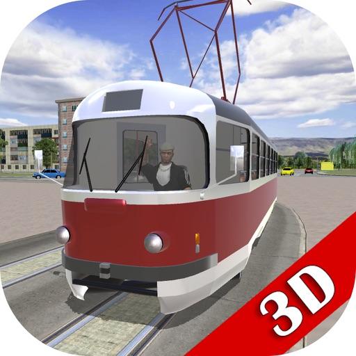 Водитель Трамвая В Городе