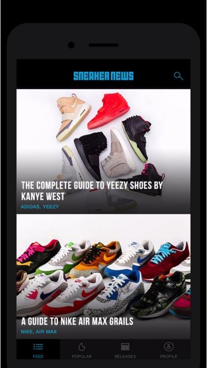 Sneaker News App