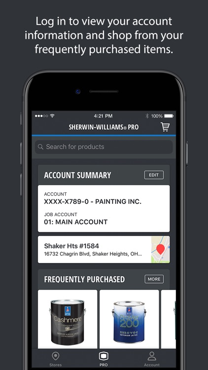 Sherwin-Williams PRO screenshot-1