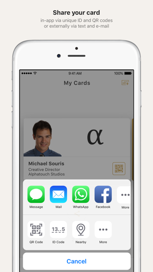 Nexals digital business cards on the app store nexals digital business cards on the app store colourmoves