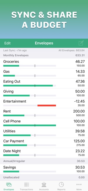 budget apps for iphone goodbudget budget planner on the app 1761