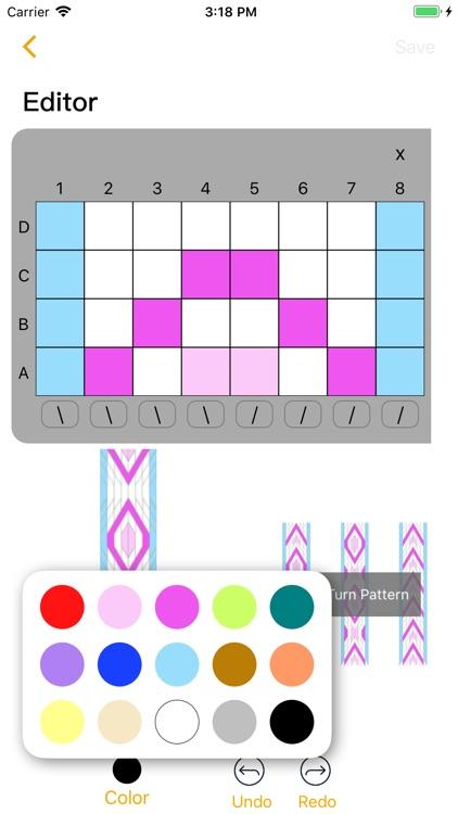 Tablet Weaving Designer screenshot-4