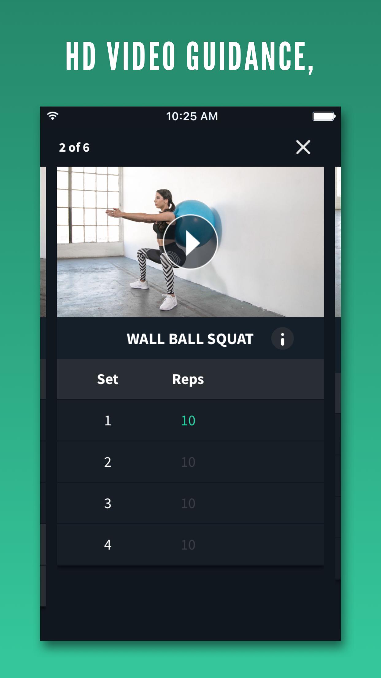 Fitplan: Gym & Home Workouts Screenshot
