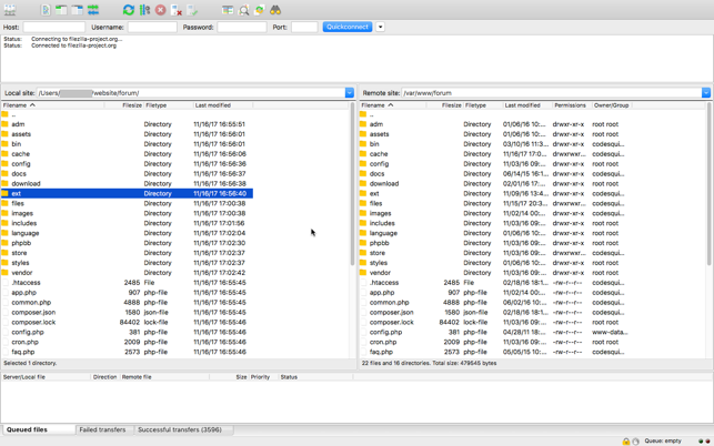 ‎FileZilla Pro - FTP und Cloud Screenshot