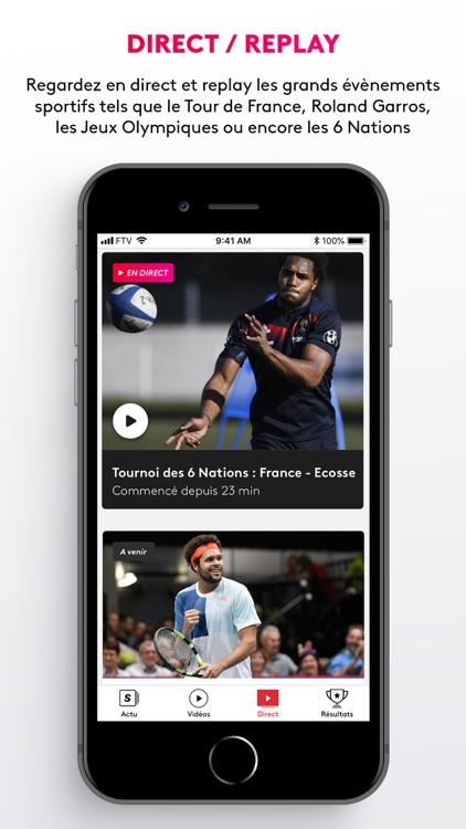 France tv sport: actu sportive screenshot-3