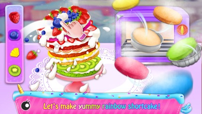 Rainbow Unicorn Cook Book Screenshot on iOS