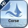 Corsica boating gps nautical offline fishing chart