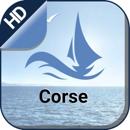 Corsica boating gps nautical offline fishing chart