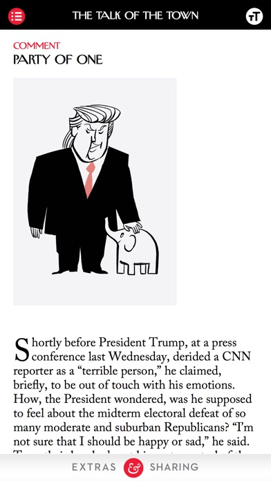 The New Yorker Magazine review screenshots