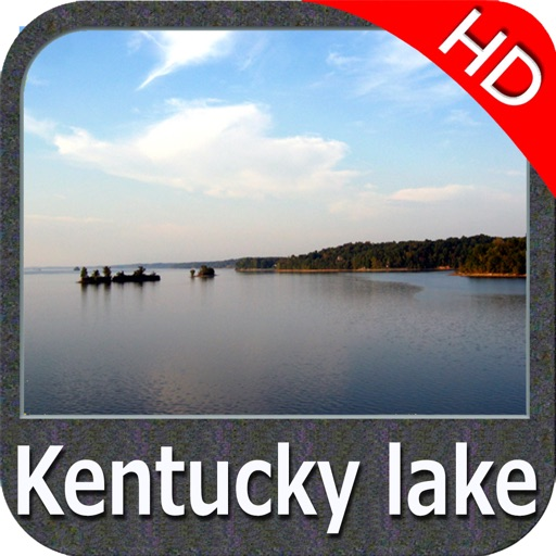Kentucky Barkley Lakes HD Maps