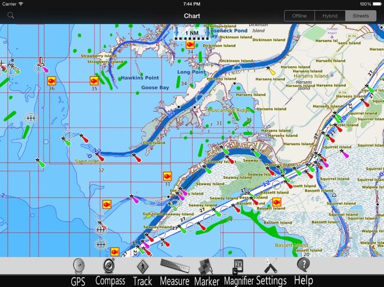 Lake St. Clair GPS Charts Pro screenshot-3