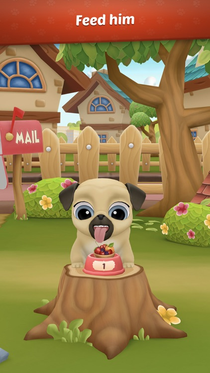 My Virtual Pet Dog: Pug Louie screenshot-4