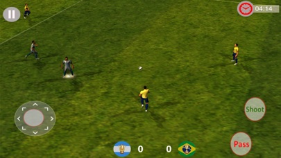 Ultimate FootBall Super League:Game screenshot one