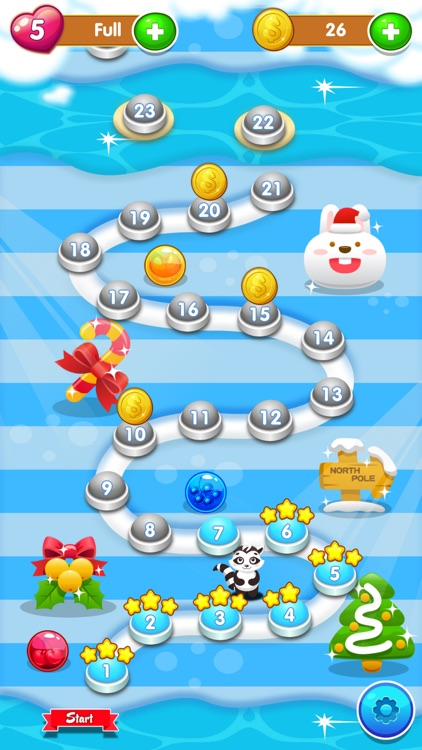 Bubble Shooter Christmas Eve screenshot-3