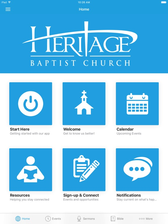 Heritage Baptist - Woodbridge screenshot 4
