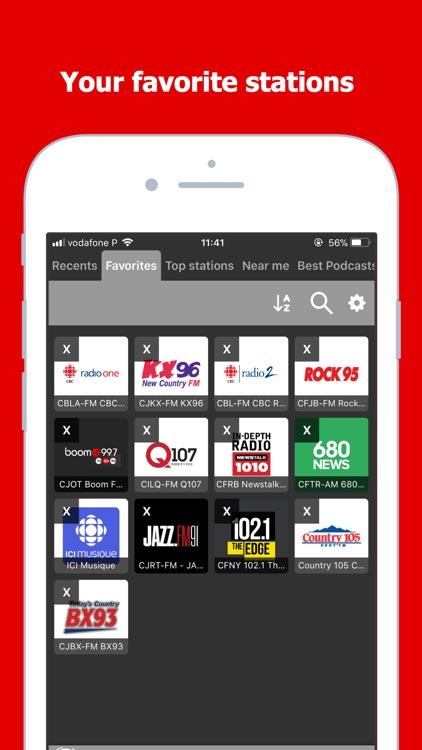 Radio Canada: Live AM FM Tuner by Jose Araujo