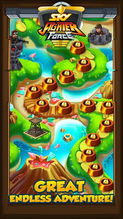 Sky fighter Force : War Games screenshot-4