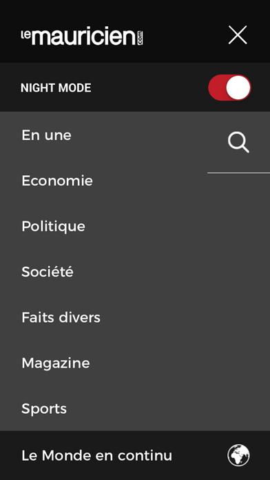 Le Mauricien screenshot four
