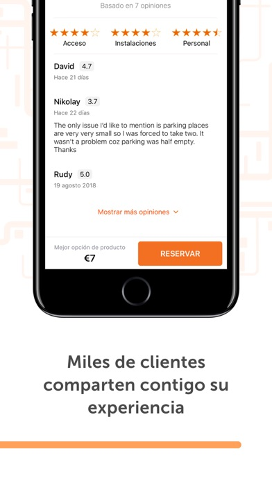 Screenshot for Parclick - Encontrar Parkings in Peru App Store