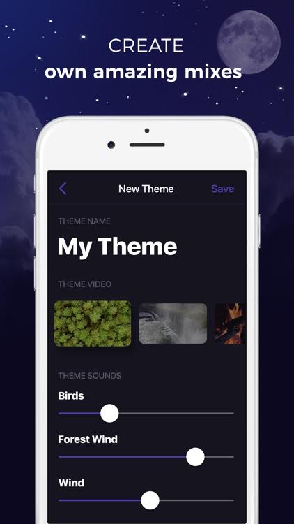 Sleep Timer - relaxing melodies & sleep sounds screenshot-4