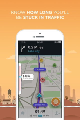 Screenshot for Waze GPS ve Canlı Trafik in Turkey App Store