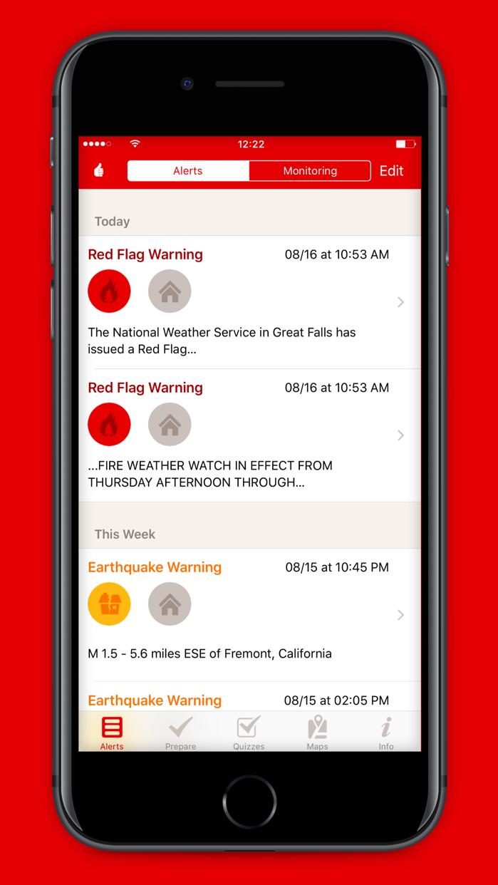 Emergency: Alerts Screenshot