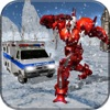 Ambulance Robot Transform 3D