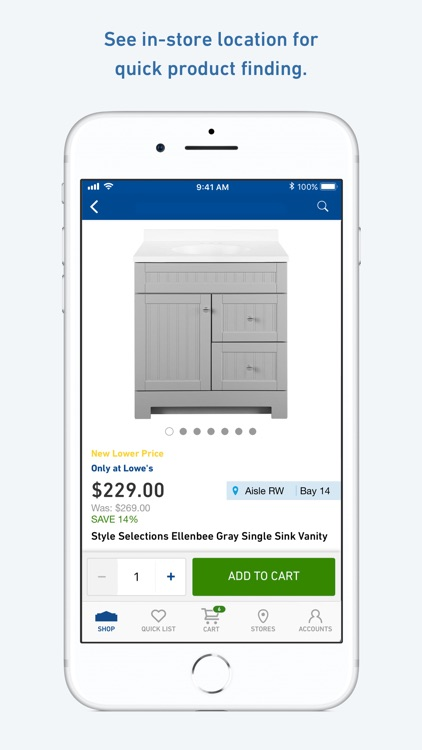 Lowe's Home Improvement screenshot-0