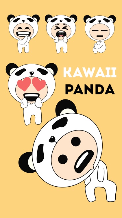 Kawaii Panda Person