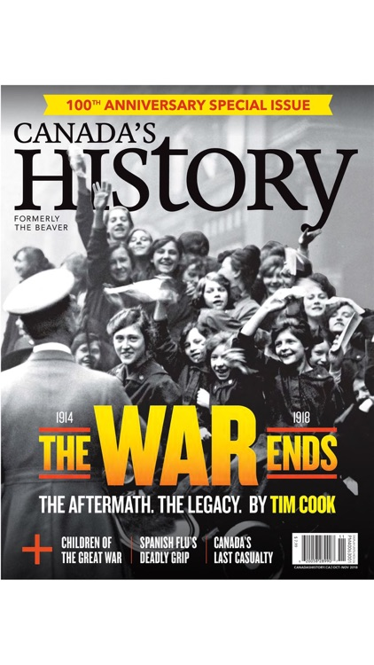 Canada's History Magazine screenshot-0