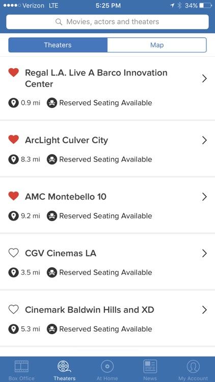 Flixster - Showtimes + Tickets screenshot-4