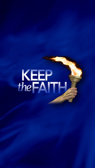 Keep the Faith App screenshot one