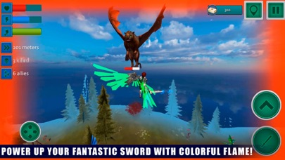 Flying Angel Fighting Sim 3D screenshot three