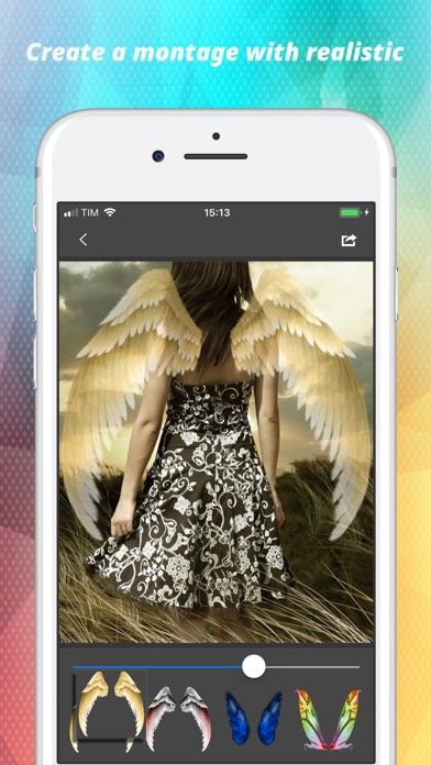 Light Wings Effect - Montage screenshot 2