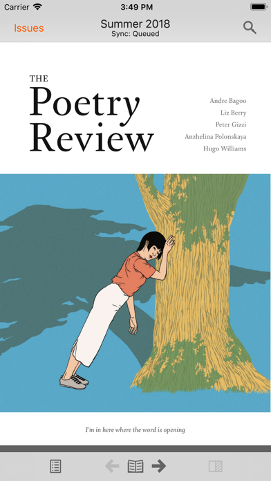 The Poetry Review review screenshots