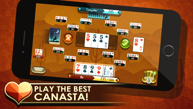 Canasta Royale screenshot-0