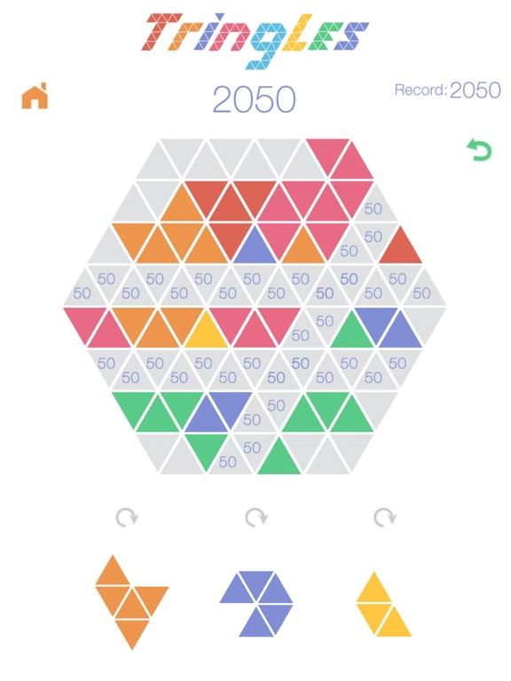 Игра Треугольнички Tringles