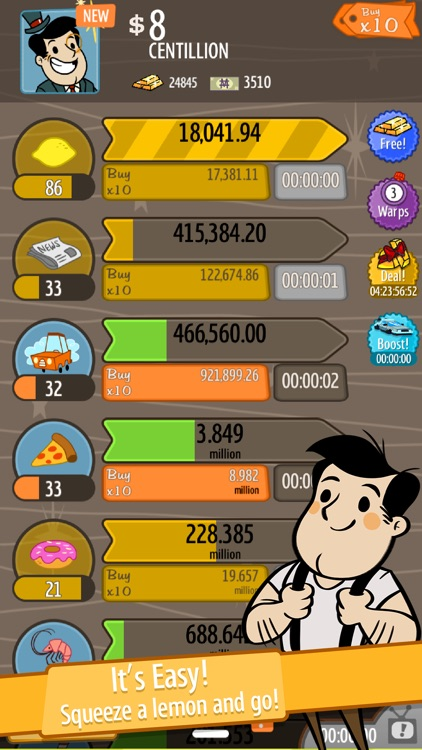 AdVenture Capitalist screenshot-1