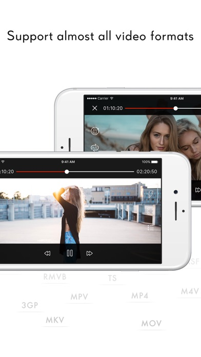 Screenshot for Video Vault - Video Player in United States App Store