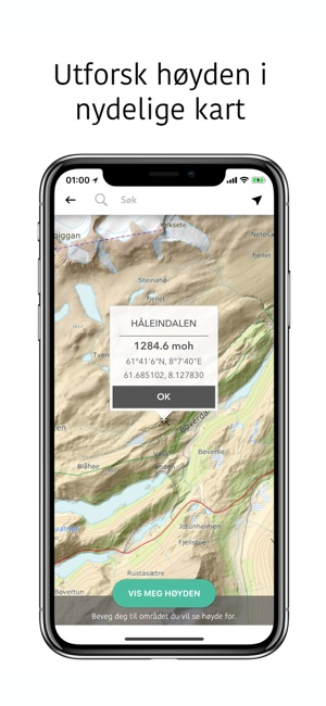 kart med høyde over havet Above   Høyde over havet on the App Store kart med høyde over havet