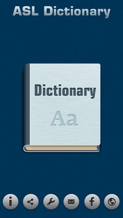 Screenshot for ASL Dictionary in United States App Store
