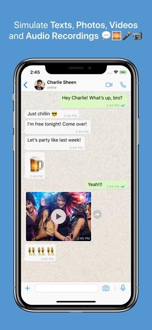 gratis chat app iphone